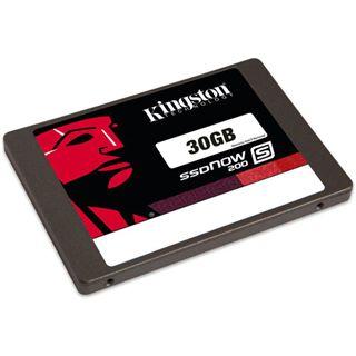 """30GB Kingston SSDNow S200 2.5"""" (6.4cm) SATA 6Gb/s MLC asynchron (SS200S3/30G)"""
