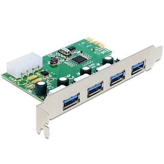 Delock 89363 4 Port PCIe 2.0 x1 retail
