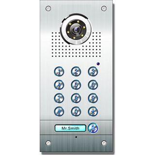 AE Farb-Videotürsprechanlage m. Code 2 Fam.