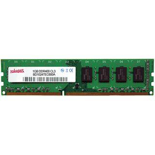 1GB takeMS TMS94656 DDR-400 ECC SO-DIMM CL3 Single