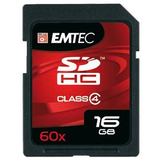 16 GB EMTEC New Pack SDHC Class 4 Retail