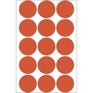Herma 2272 rot rund Vielzwecketiketten 3.2x3.2 cm (32 Blatt (480 Etiketten))