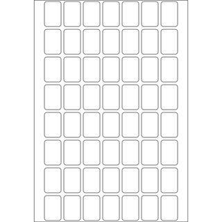 Herma 2340 Vielzwecketiketten 1.2x1.8 cm (32 Blatt (1792 Etiketten))