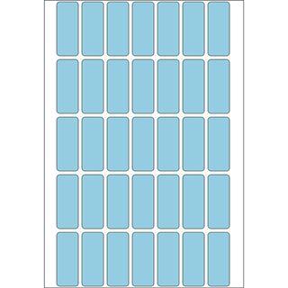 Herma 2353 blau Vielzwecketiketten 1.2x3 cm (32 Blatt (1120 Etiketten))