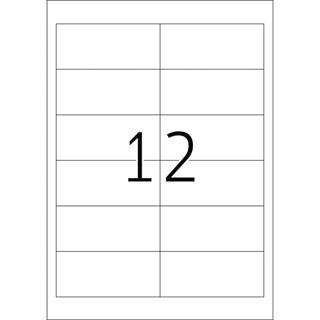 Herma 4228 Korrektur-Etiketten 9.7x4,23 cm (25 Blatt (300 Etiketten))