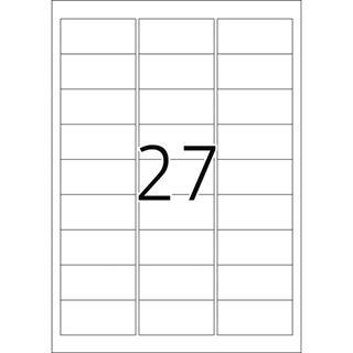 Herma 4233 stark haftend Sicherheitsetiketten 6.35x2.96 cm (25 Blatt (675 Etiketten))