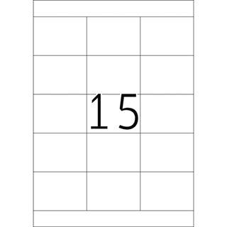 Herma 4278 Premium Universal-Etiketten 7x5.08 cm (100 Blatt (1500 Etiketten))