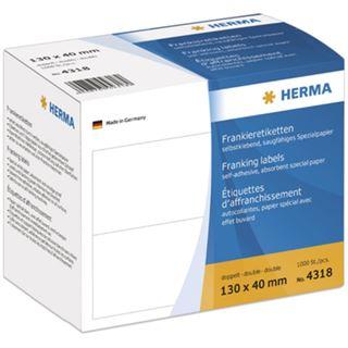Herma 4318 selbstklebend Frankieretiketten 13x4 cm (1000 Stück)