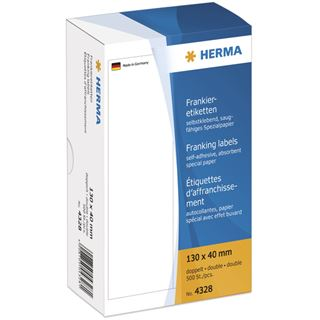 Herma 4328 selbstklend Frankieretiketten 13x4 cm (500 Stück )
