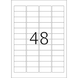 Herma 4369 grün Universal-Etiketten 4.57x2.12 cm (20 Blatt (960 Etiketten))