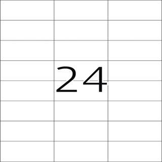 Herma 4695 extrem stark haftend Universal-Etiketten 7.0x3.7 cm (25 Blatt (600 Etiketten))