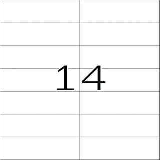 Herma 5057 Premium Universal-Etiketten 10.5x4.23 cm (25 Blatt (300 Etiketten))