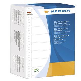 Herma 8228 weiß Computeretiketten 3.81x10.3 cm (24000 Stück)