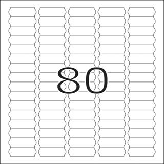 Herma 10002 ablösbar Preisetiketten 3.56x1.69 cm (25 Blatt (2000 Etiketten))
