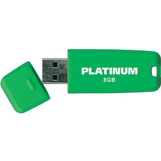8 GB Platinum SoftStick grün gruen USB 2.0