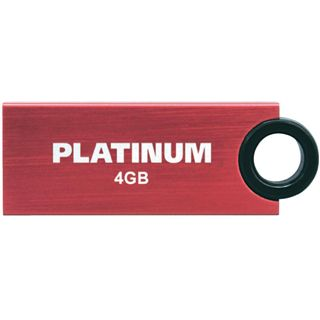 4 GB Platinum HighSpeed Slender rot USB 2.0