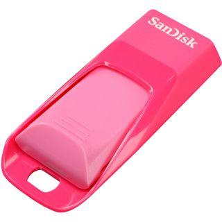 8 GB SanDisk Cruzer Edge weiss/pink USB 2.0