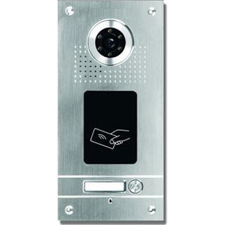AE Farb-Videotürsprechanlage m. RFID 1 Fam.