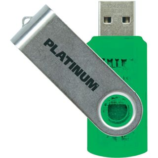 8 GB Platinum Twister gruen USB 2.0