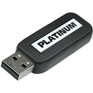 16 GB Platinum Slider schwarz USB 3.0