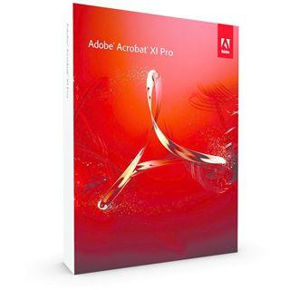 Adobe Acrobat Pro XI 32/64 Bit Italienisch Office EDU-Lizenz PC (DVD)