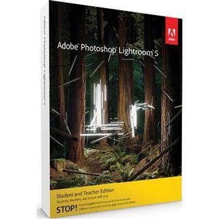 Adobe Photoshop Lightroom 5 64 Bit Französisch Grafik EDU-Lizenz PC/Mac (DVD)