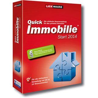 Lexware QuickImmobilie Start 2014 32 Bit Deutsch Office Vollversion PC (CD)
