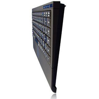 KeySonic ACK-540U+ USB Englisch schwarz (kabelgebunden)