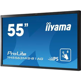 "55"" (139,70cm) iiyama ProLite TH5563MIS-B1AG Touch schwarz 1920x1080 1xHDMI 1.3/1xVGA/1xDVI/1xComposite Video/S-Video/seriell"