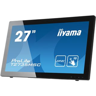 "27"" (68,58cm) iiyama ProLite T2735MSC Touch schwarz 1920x1080 HDMI/VGA/DVI-D"