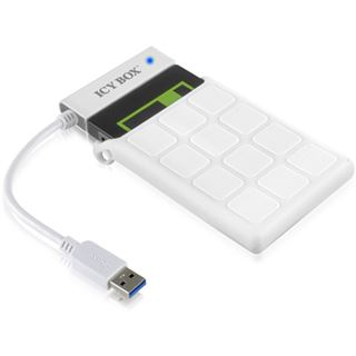 """Raidsonic IB-AC6032-U3 USB 3.0 Adapter Kabel für 2,5"""" SSD/HDD SATA mit Silikon Schutzhülle"""