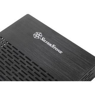 Silverstone Galileo Thin Mini-ITX ohne Netzteil schwarz