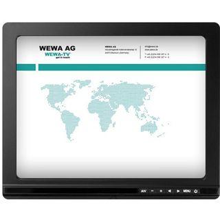 "9.7"" (24,64cm) Wewa WT0100TMBHB2 Touch schwarz 1024x768 HDMI/VGA"
