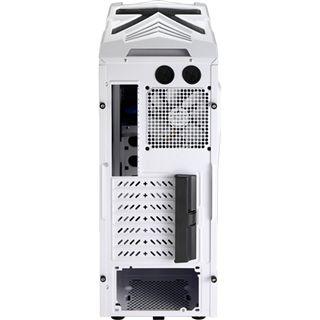 AeroCool Strike-X Xtreme White Edition Midi Tower ohne Netzteil schwarz/silber