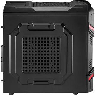 AeroCool GT-R Black Edition Midi Tower ohne Netzteil schwarz