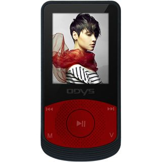 Odys PULSE MP3 Player rot
