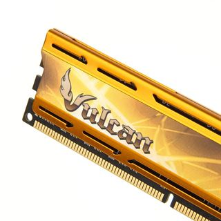 8GB TeamGroup Vulcan Series gold XMP DDR3-2400 DIMM CL11 Dual Kit