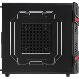 AeroCool GT Black Advance Edition Midi Tower ohne Netzteil schwarz