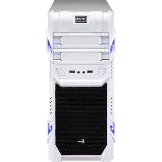 AeroCool GT White Advance Edition Midi Tower ohne Netzteil weiss