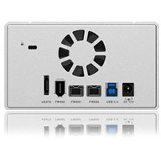 "ICY BOX IB-RD3252-U3SE2 3.5"" (8,89cm) eSATA/FireWire/FireWire 800/USB 3.0 silber"
