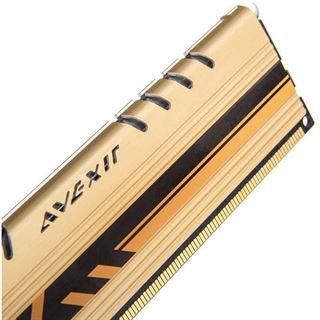 16GB Avexir Core Series gold DDR3-1600 DIMM CL10 Dual Kit