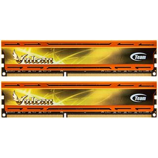 8GB TeamGroup Vulcan Series orange DDR3-1866 DIMM CL11 Dual Kit