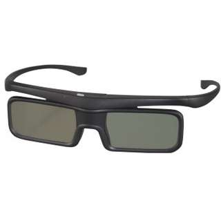 Hama 3D-Shutterbrille für Panasonic 3D-TVs, Funk, Schwarz, Batterie