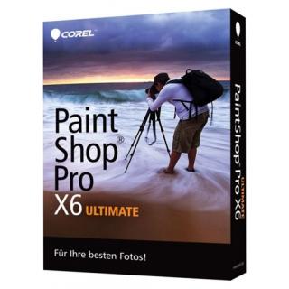Corel Paint Shop Pro X6 Ultimate 32/64 Bit Deutsch Grafik Vollversion PC (DVD)
