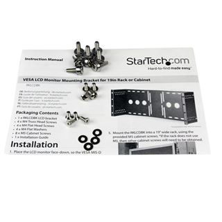"StarTech 19"" UNIVERSAL SERVERSCHRANK / VeSA Halterung"