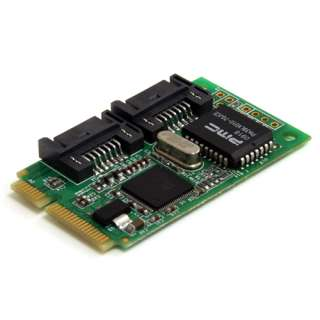 Startech MPEXSATA22I 2 Port PCIe Mini Card retail