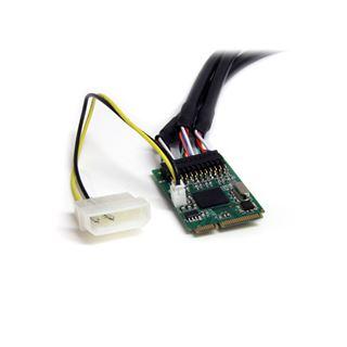 Startech MPEX1394B3 3 Port PCIe Mini Card interner Stromanschluss retail