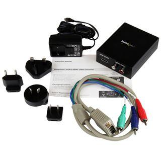 StarTech COMPOSITE / VGA UND AUDIO AUF