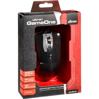 Ultron GameOne USB schwarz (kabelgebunden)