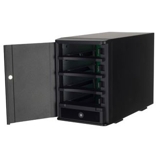 "Silverstone SST-TS431U 3.5"" (8,89cm) eSATA/USB 3.0 schwarz"